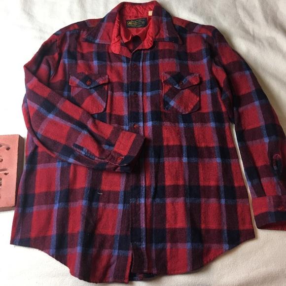 1f9fb7cca9 Kmart Shirts | Vintage K Mart Shadow Plaid Flannel Shirt Mens Xl ...